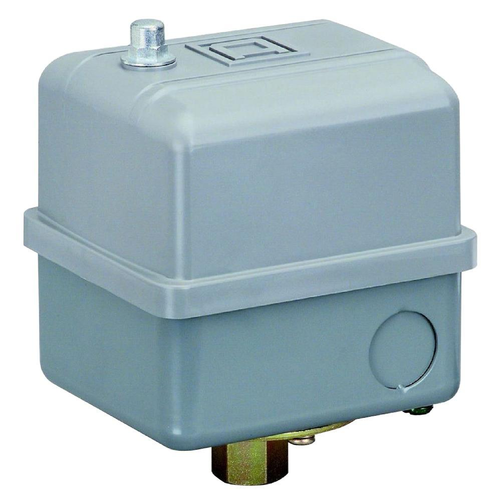 Square D Pumptrol 60-80 PSI Air Compressor or Well Pump Pressure Switch  with higher hp ratings