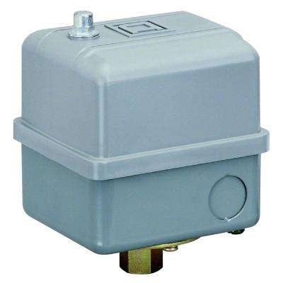 60/80 psi Water Pump/Air Compressor Switch (Higher HP Ratings)