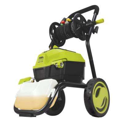 2500 Max PSI 1.48 GPM 13 Amp High Performance Electric Pressure Washer with Hose Reel