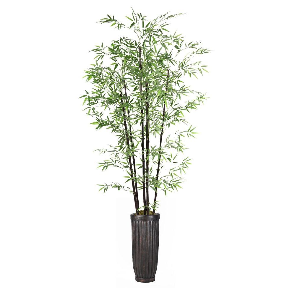 Laura Ashley 93 In Tall Bamboo Tree In Planter Vhx106214