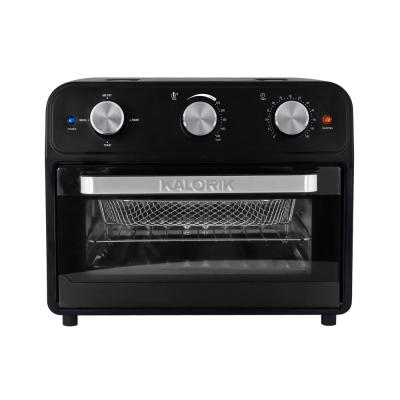 22 Qt. Black Air Fryer Oven