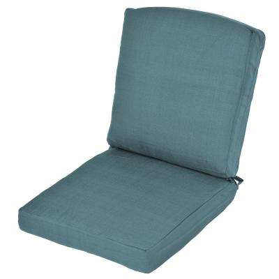 Oak Cliff Charleston Replacement 2-Piece Outdoor Dining Chair Cushion
