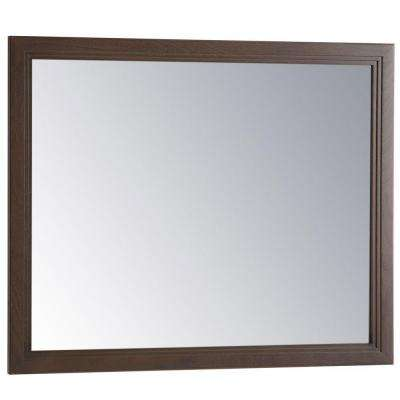 Brinkhill 31 in. W x 26 in. H Wall Mirror in Flagstone