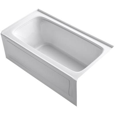 Bancroft 60 in. Right-Hand Drain Rectangular Alcove Bathtub in White