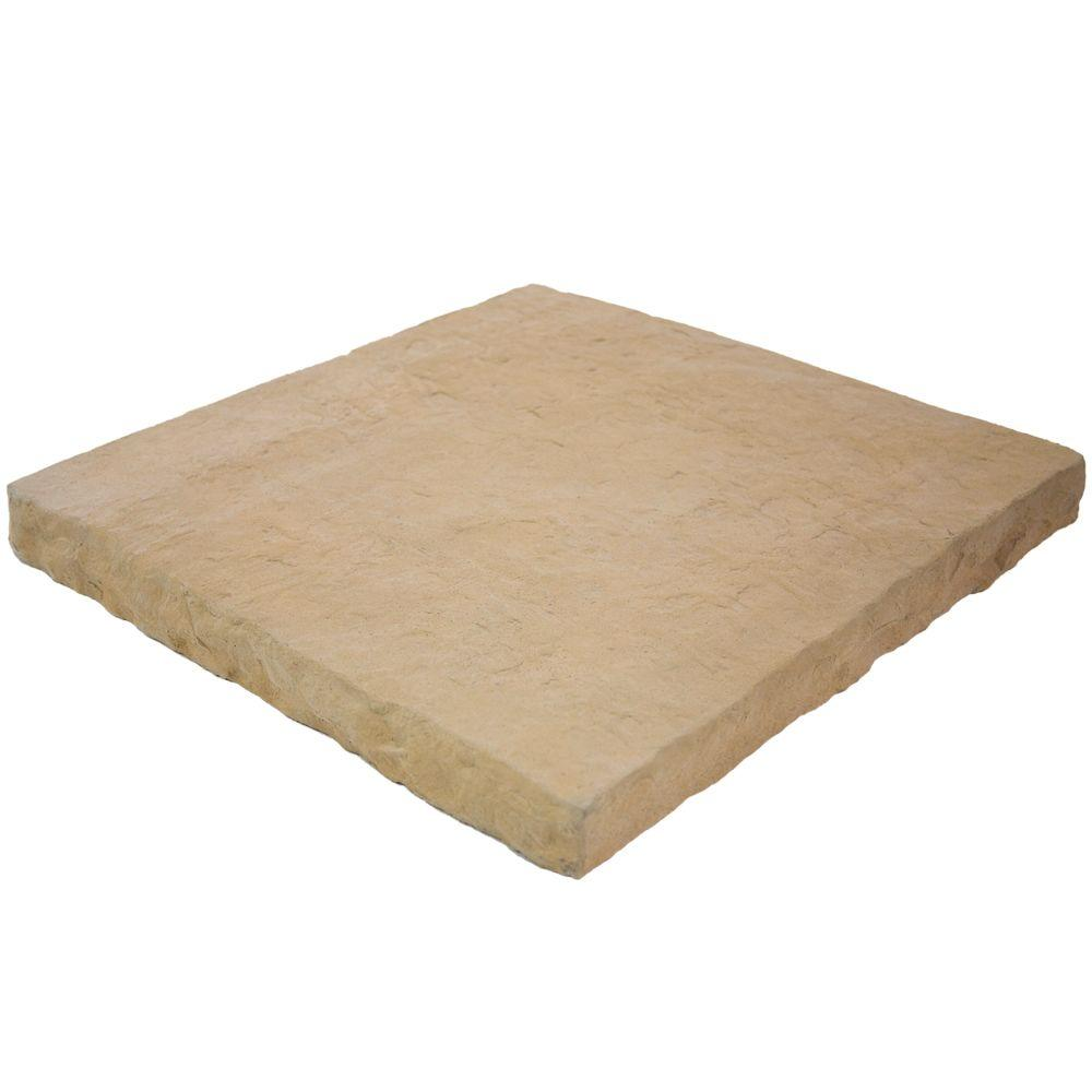 Hearth Stone/Flat Wall Coping Sand 19 in. x 20 in. Manufactured
