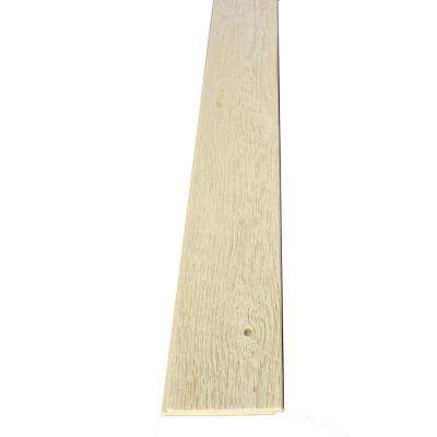 Superior 4-1/2 in. x 3/4 in. x 95 in. Unfinished Interlocking Faux Barn Wood Plank Shiplap