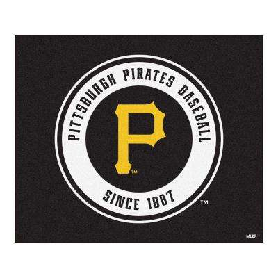 Pittsburgh Pirates 5 ft. x 6 ft. Tailgater Rug