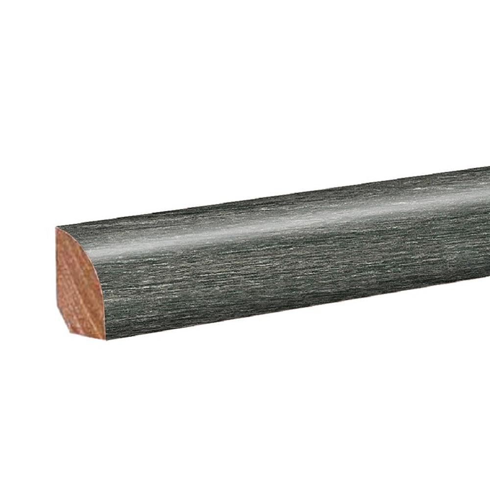 Thornbury Oak 0.62 in. Thick x 0.75 in. Wide x 94.5 in. Length Laminate Quarter Round Molding