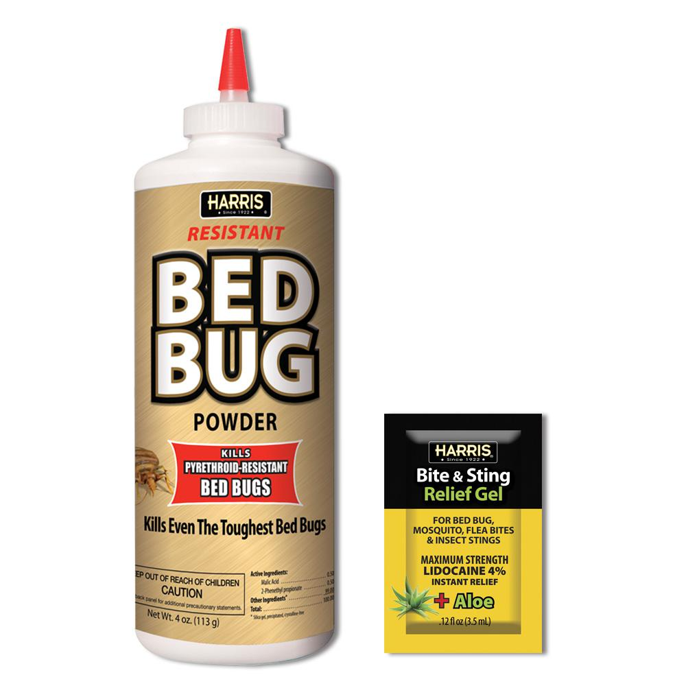 4 oz. Resistant Bed Bug Killer Powder and Insect Bite and