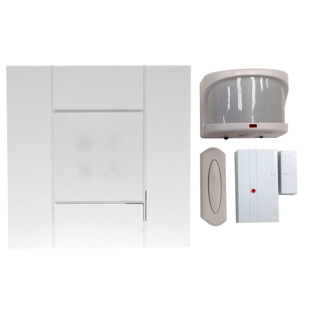 H&ton Bay Wireless 4-Channel Door Bell and Alert Kit