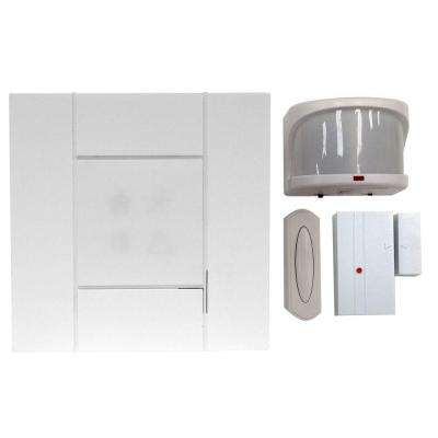 Wireless 4-Channel Door Bell and Alert Kit