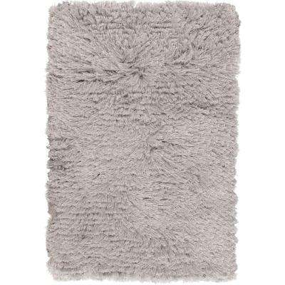 Vibius Blue Gray 8 ft. x 10 ft. Area Rug