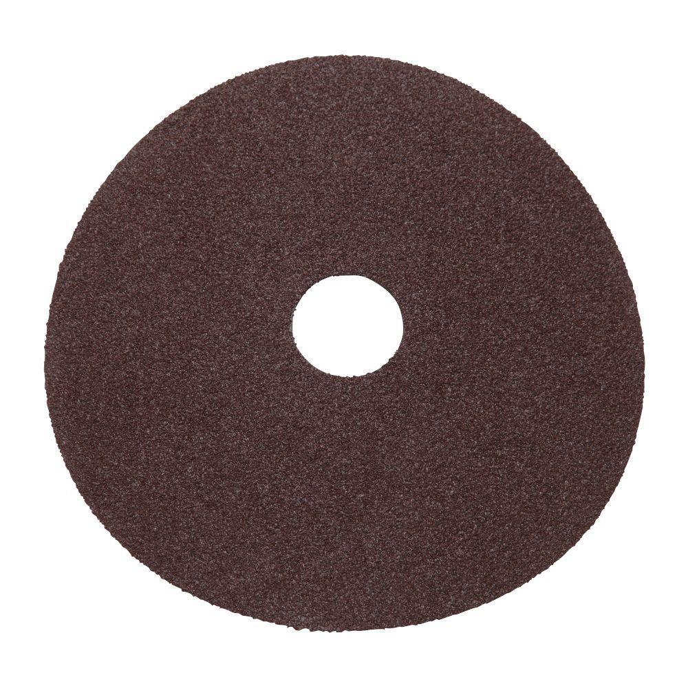 Milwaukee 5 in. 24-Grit Sanding Disc (25-Pack)