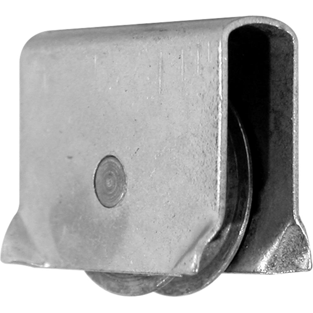 Prime-Line 9/16 in. Dia Steel Showcase Sliding Window Roller Assembly (Pack of 2)