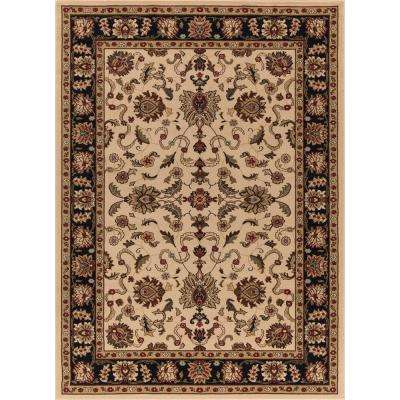 Ankara Agra Ivory 7 ft. 10 in. x 10 ft. 10 in. Area Rug