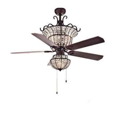 Charla 52 in. Bronze Ceiling Fan