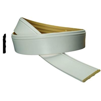 WM 620 4 in. x 1/2 in. x 94-1/2 in. Flexible Polyurethane Base Moulding Pro Pack 15-1/2 LF (2-Pack)