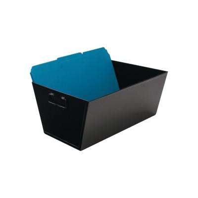 7.38 in. H x 15.5 in. W x 11.25 in. D Legal-Size Steel Storage Bin