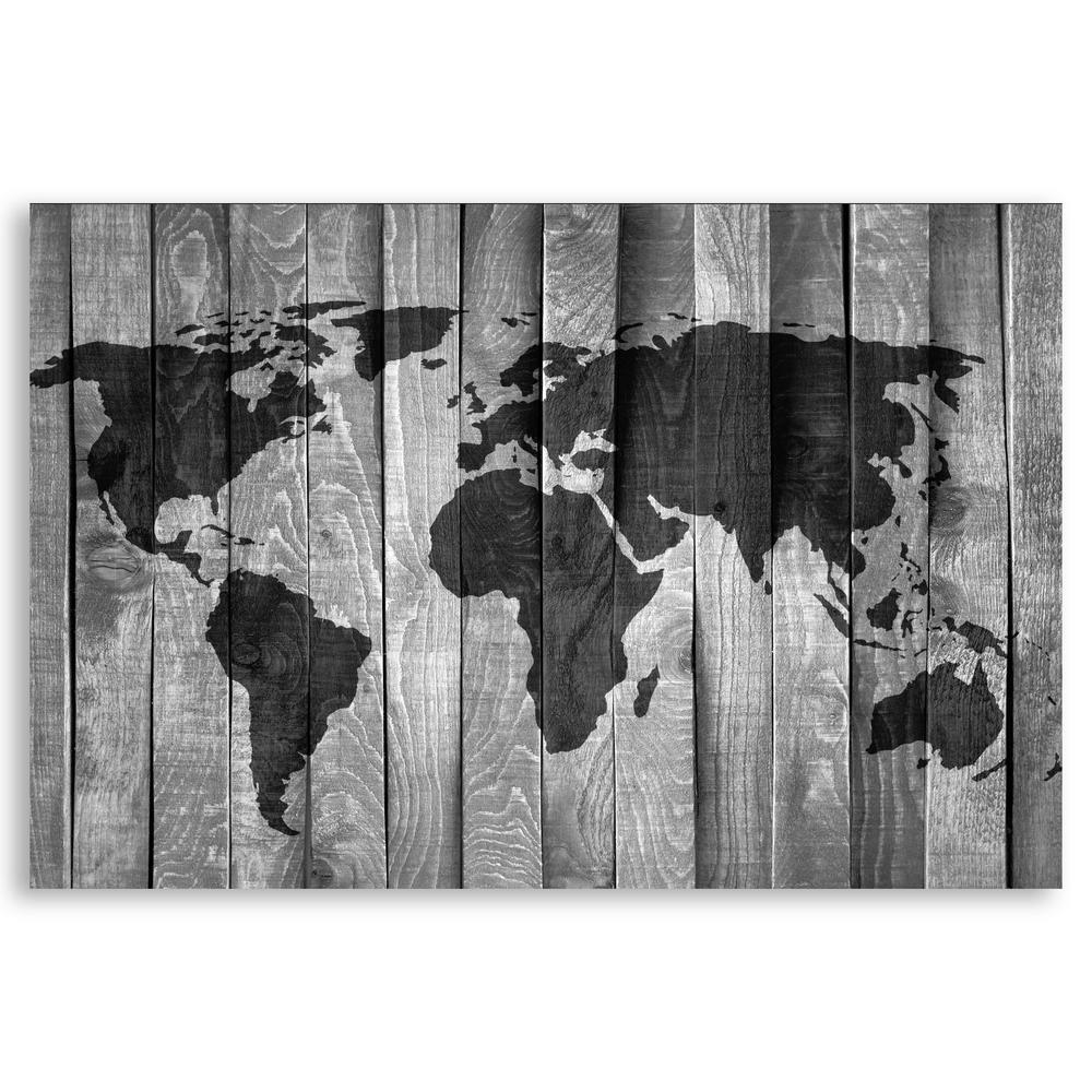 Designer Stencils Large World Map Wall Stencil by Designer Stencils