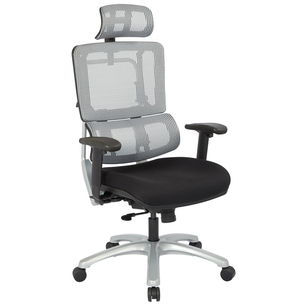 pro line ii grey mesh vertical back office chair 99666shrs 30 the