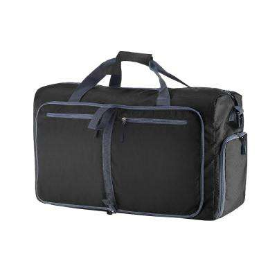 28 in. Black Folding Duffel Bag