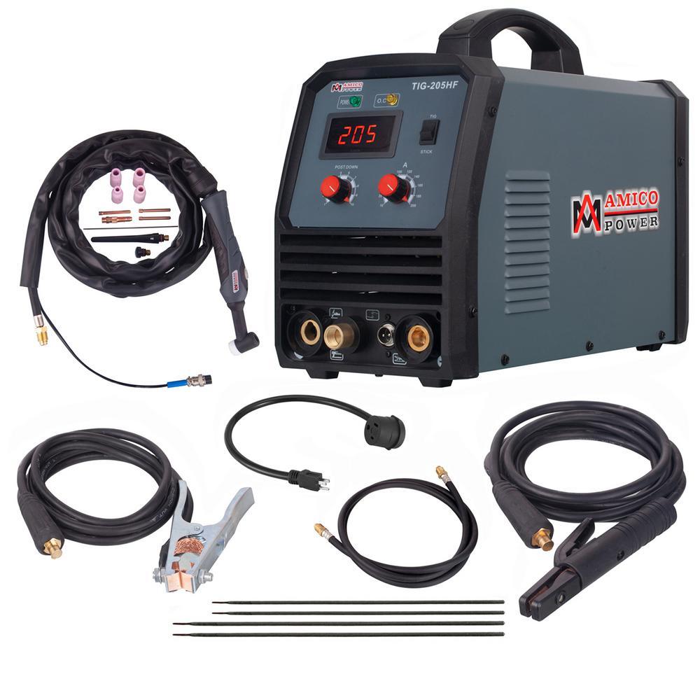 200 Amp TIG Torch ARC Stick DC Welder 110//230V Dual Voltage Welding Machine New TIG-200DC