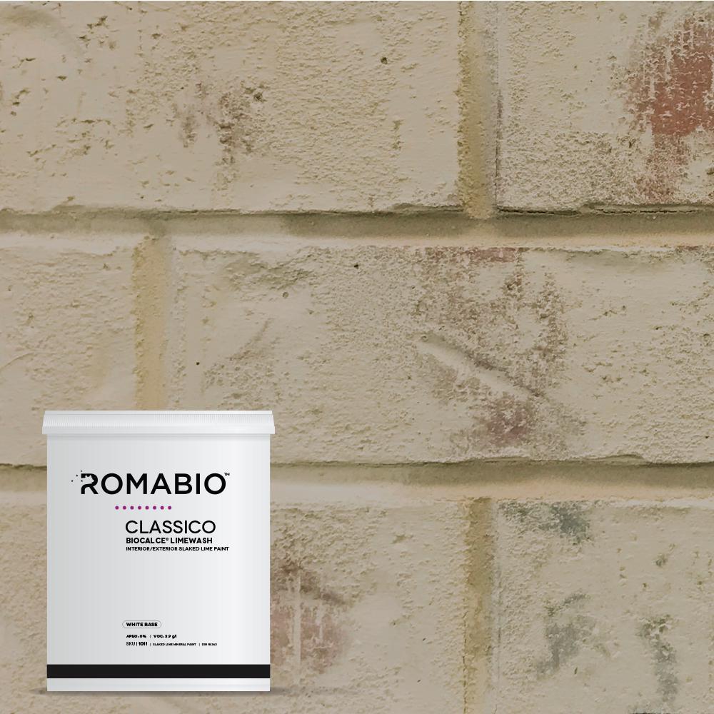1-qt. Toscana Beige Limewash Interior/Exterior Paint