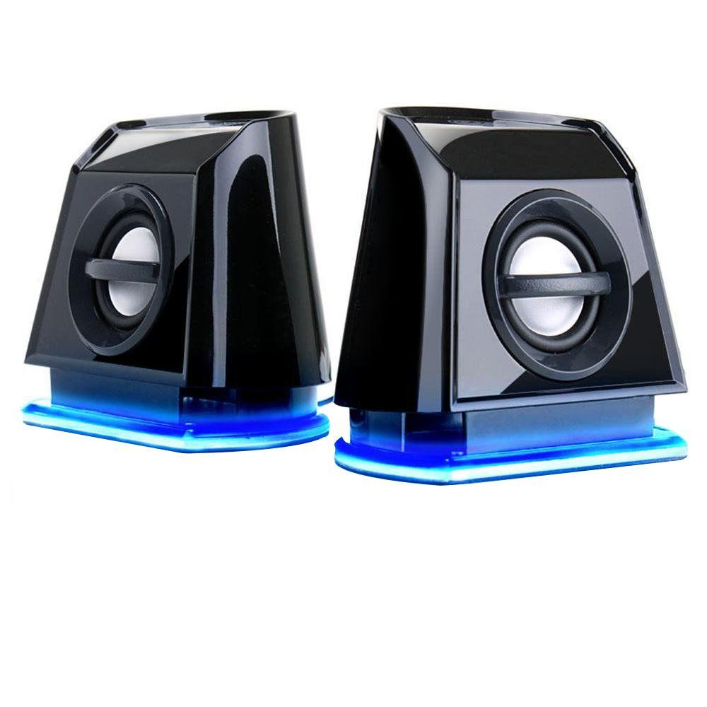 BassPULSE 4.8-Watt 2.0-Channel Computer Speakers