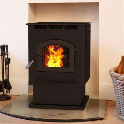 2,200 sq. ft. Pellet Stove with 80 lb. Hopper and Auto Ignition