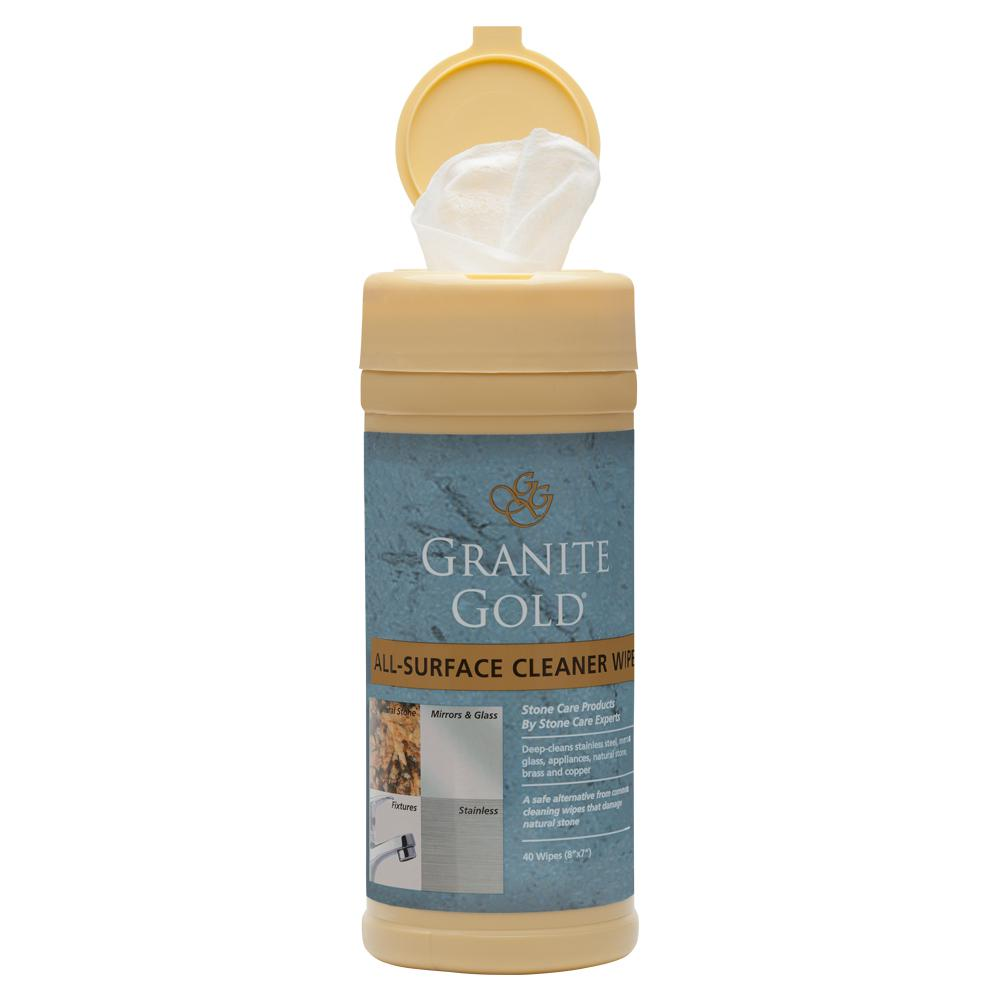 Granite Gold All-Surface Cleaner Wipes (40-Count)
