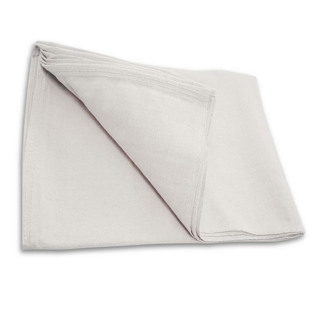 Everbilt 4ft. x 15ft. Poly Backed Drop cloth