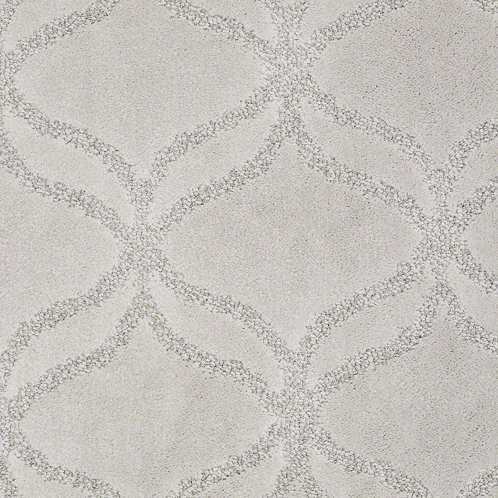 Carpet Sample - Kensington - In Color Rain Drop 8 in. x 8 in.