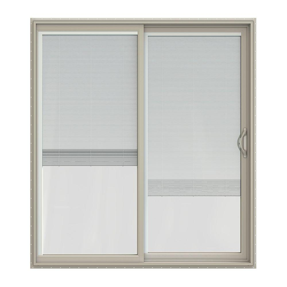 Jeld Wen 72 In X 80 In V 2500 Desert Sand Vinyl Right Hand Full