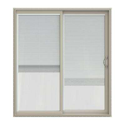 72 in. x 80 in. V-2500 Desert Sand Vinyl Right-Hand  sc 1 st  The Home Depot & Blinds Between the Glass - JELD-WEN - Exterior Doors - Doors ...