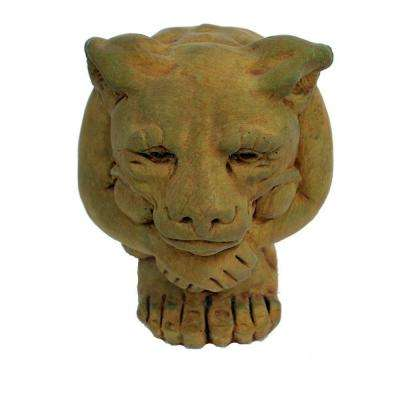 Cast Stone Small Igor Gargoyle Garden Statue Weathered Bronze