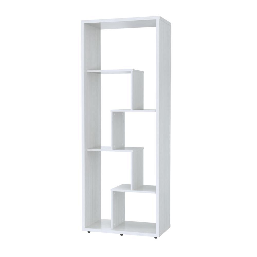Inval Laricina White Bookcase Shelf BE-7904