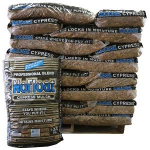 No Float 2 Cu Ft Cypress Mulch 40 Bags 80