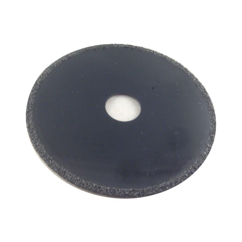 4 in. Diameter 3/4 in. Arbor Coarse Grit Carbide Grit Circular