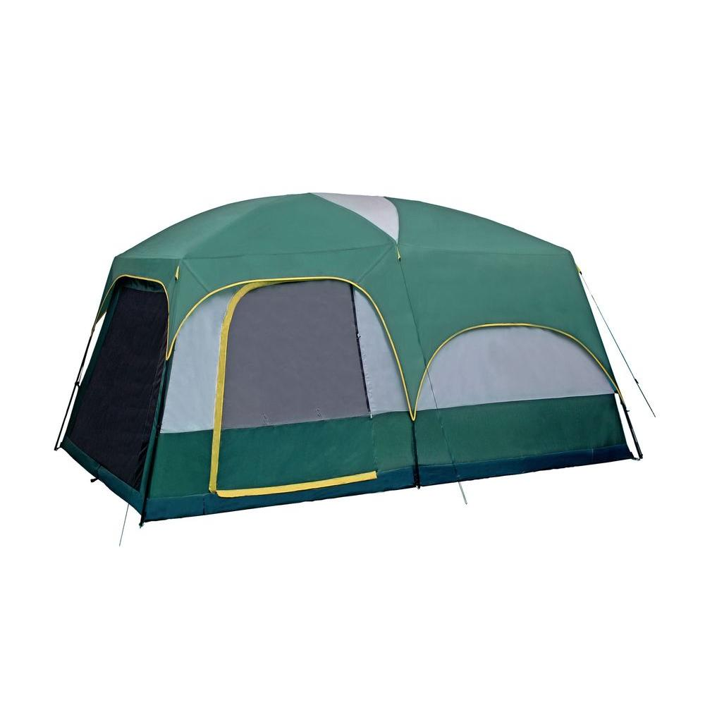 Mountain Springer 8-Person Cabin Tent  sc 1 st  The Home Depot & Coleman Elite WeatherMaster 6-Person 11 ft. x 9 ft. Lighted Tent ...