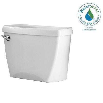 Champion 4 1.28 GPF Single Flush Toilet Tank Only in White