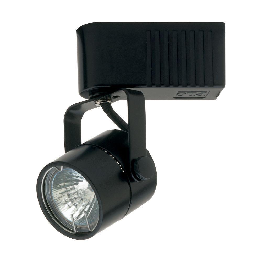 Lightolier Track Pendant Adapter: PLC Lighting 1 Light Track Light Fixture Black-CLI