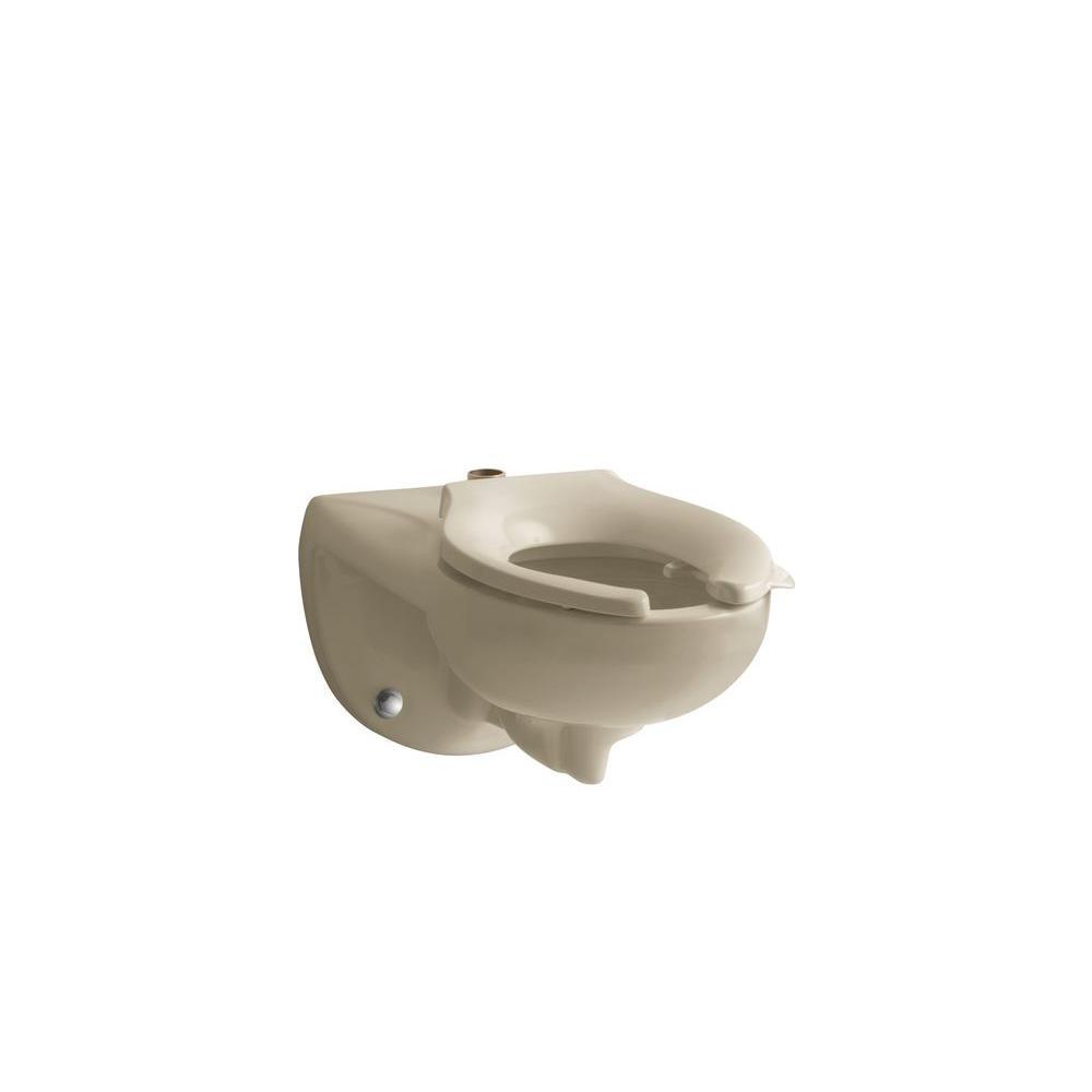 KOHLER Kingston Elongated Toilet Bowl Only in Mexican Sand