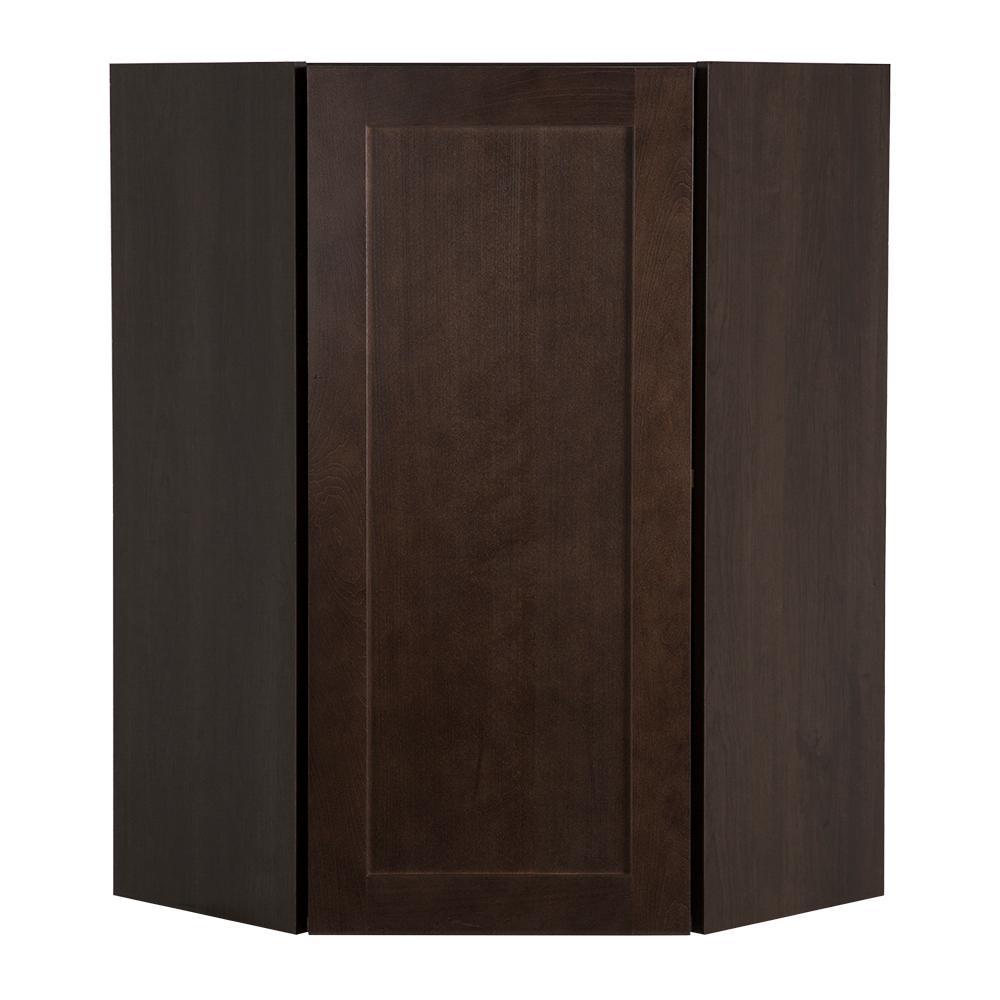 Cambridge Pantry Cabinets In Dusk: Hampton Bay Cambridge Assembled 24x36x12.62 In. Corner
