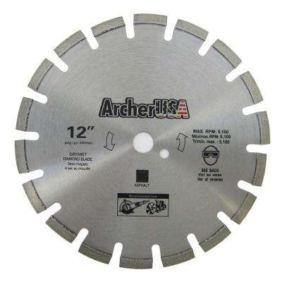 12 in. Diamond Blade for Asphalt Cutting