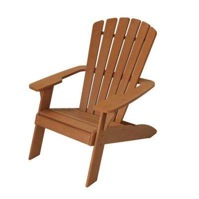 Simulated Wood Patio Adirondack Chair