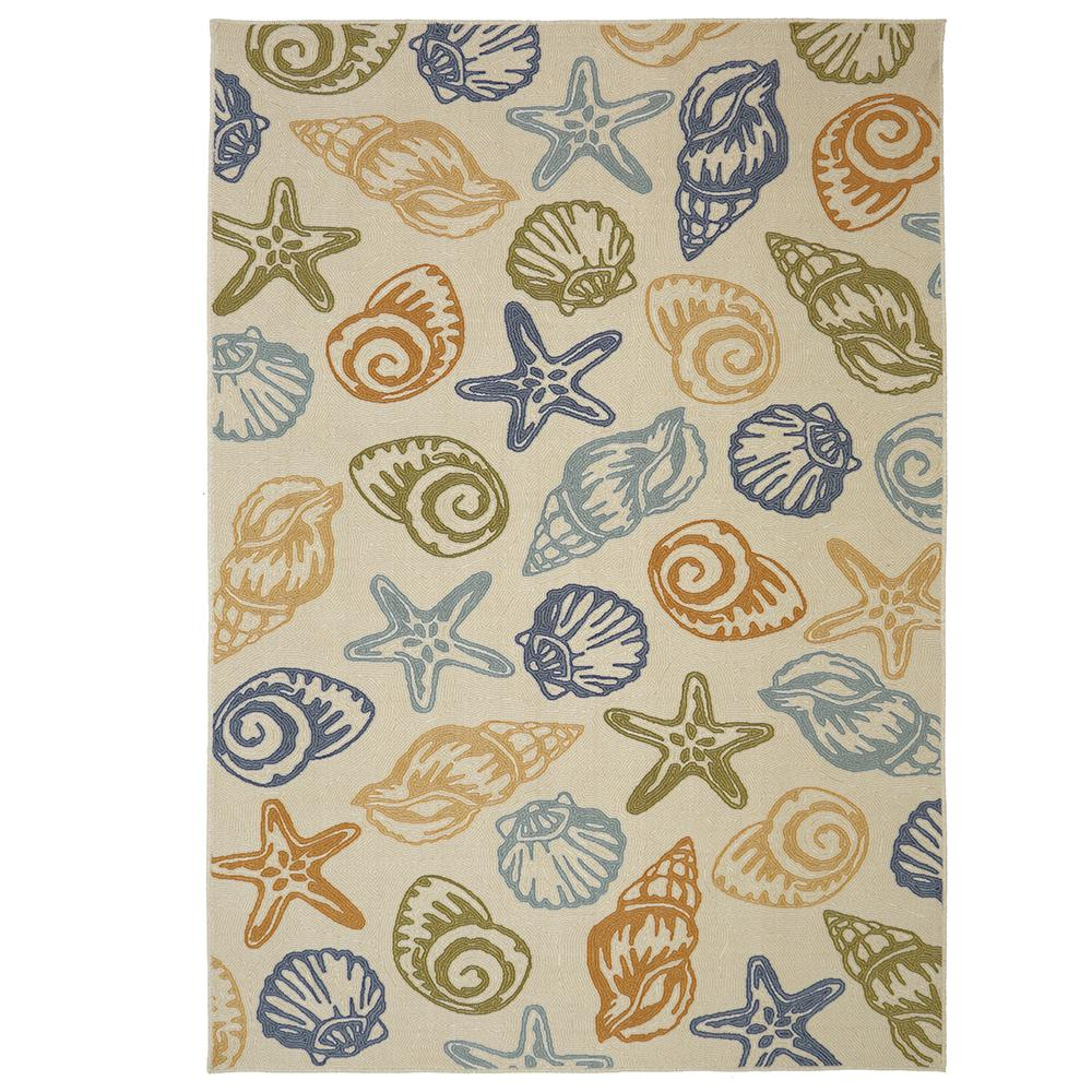 Mohawk Home Seashells Multi 7 Ft. 6 In. X 10 Ft. Area Rug
