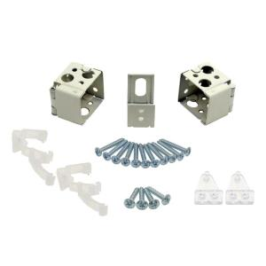 1 In Alabaster Universal Replacement Brackets