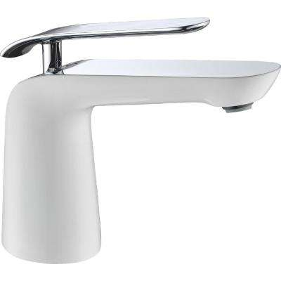 Etude Series Single Hole Single-Handle Low-Arc Bathroom Faucet in Polished Chrome
