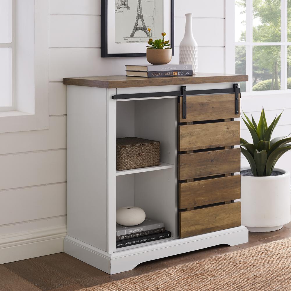 walker edison furniture company 32 in solid white rustic oak rustic rh homedepot com white rustic wood furniture white rustic wood furniture