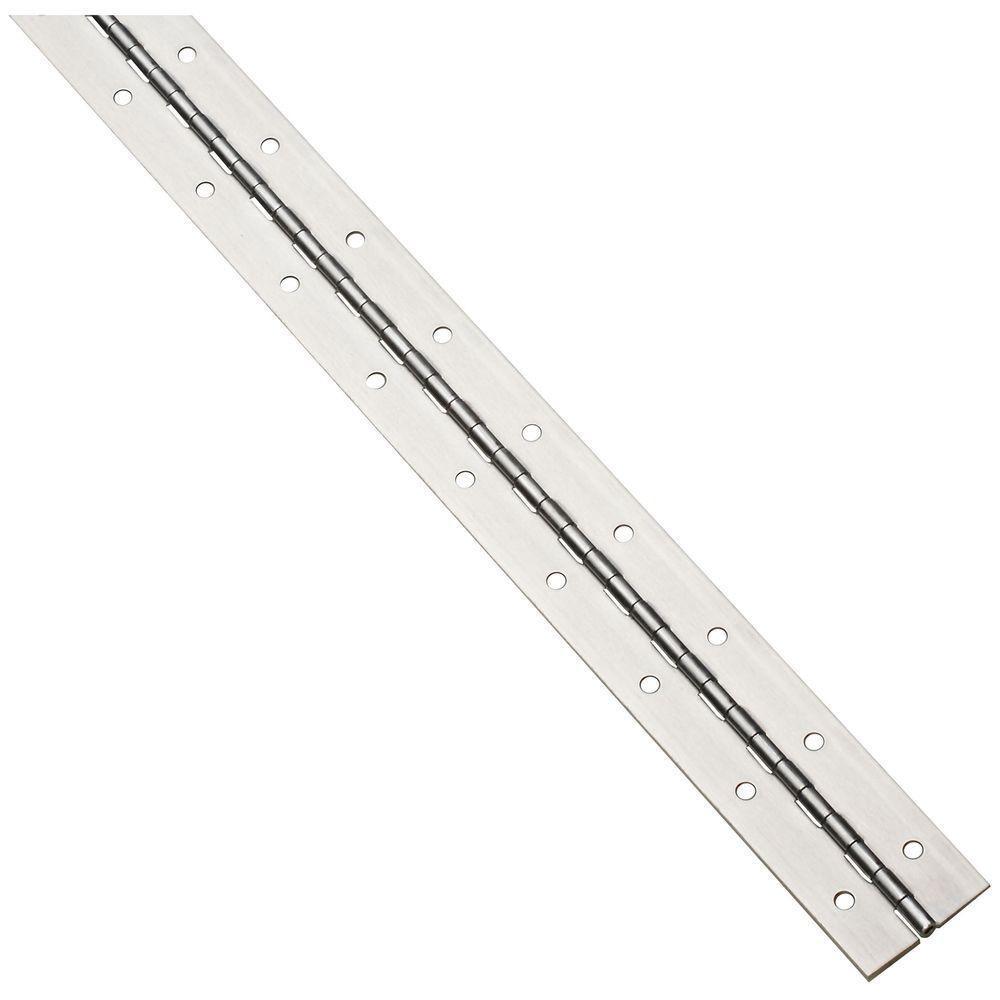 2 in. x 72 in. Aluminum Heavy Gauge Continuous Hinge